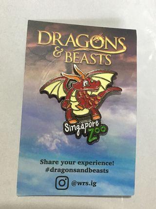 BN Dragons & Beasts pin