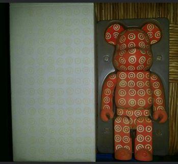中古極罕 Medicom Toy x CDG by Comme des Garçons bearbrick 植毛 400%