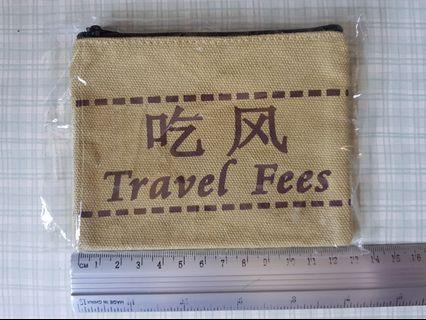🚚 Fabric coin pouch, baggie, purse