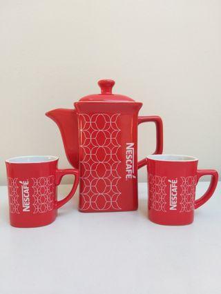 Nescafe - Teapot and Mug Set