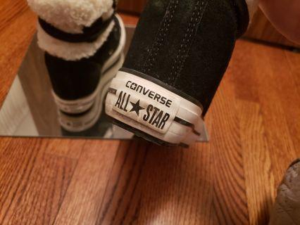 Converse black size 6.5 women's sneaker platform