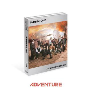 Wanna One Power of Destiny Album Adventure ver