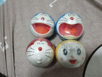 Gachapon - Capchara Doraemon Set 4pcs