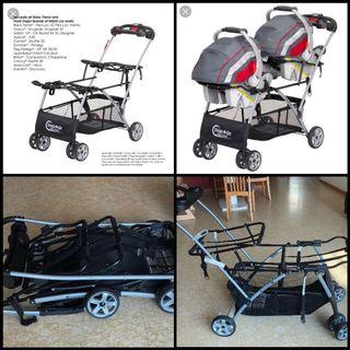 Baby Trend - Universal Double Snap-N-Go Stroller Frame