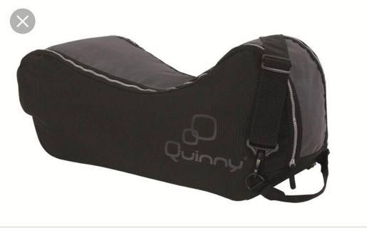 Quinny Yezz Raincover and Travel Bag