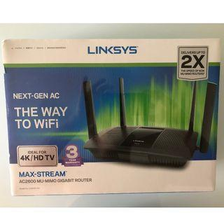 Brand New Linksys Wireless AC2600 Max-Stream Router (Sealed in box 3 year warranty) Free doorstep delivery