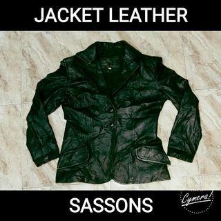 Jacket Leather Sassons