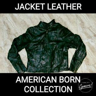 Jacket Leather American Born