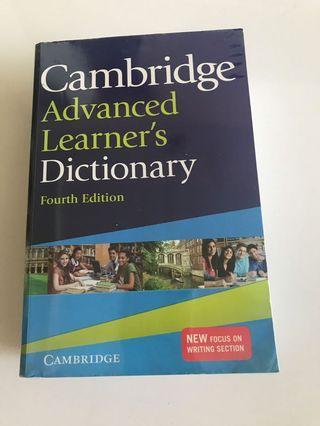 Cambridge Advanced Learner Dictionary