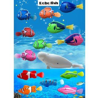 Robofish Water Activated Swimming Fishes (Battery Operated) Finding Nemo