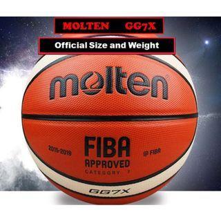 Molten Basketball GG7X (Cat 7 Men's Basketball) Free doorstep delivery