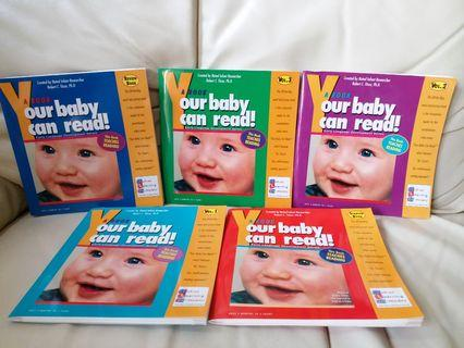Your baby can read learning books 9成9新