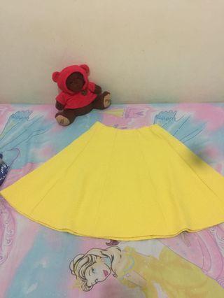 Skirt yellow