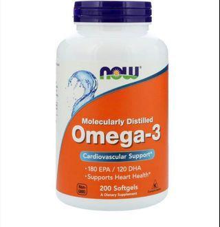 🚚 Omega 3 fish oil Vitamin Supplement