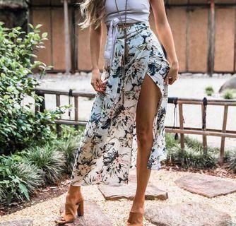 Floral Skirt sexy for beach day