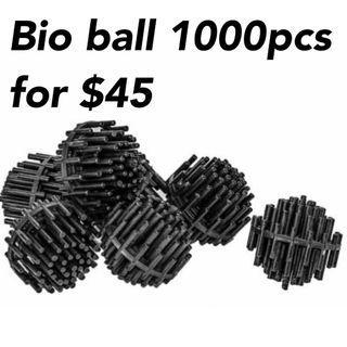 Aquarium bio ball 1000pcs for $45