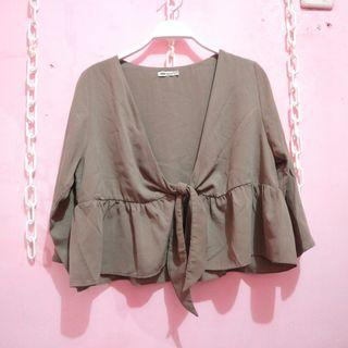 Ada woman brown outer