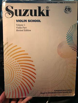 🚚 Suzuki Violin Volume 1 (book only)