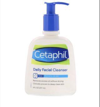 🚚 Cetaphil Oily Skin Cleanser (237ml)