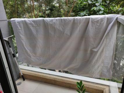 超大塊窗簾遮光布 curtain 4.8m x 1.76m