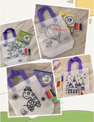Goodies, Birthday Sets, Gift, Goodie Bag- Hand Carry Canvas Bag