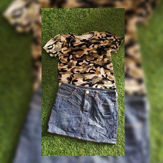 New Baju Army Buludru Import Bangkok