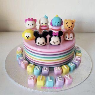 Tsum Tsum jelly cake