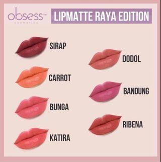 Raya Edition Lipmatte by Obsess Cosmetics