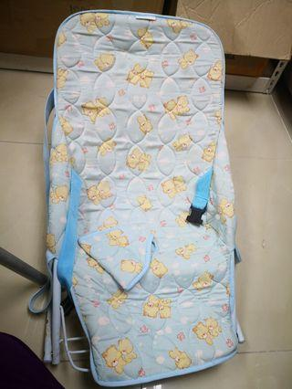 Baby high chair and cradle