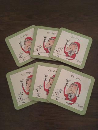 Holiday coasters (6)