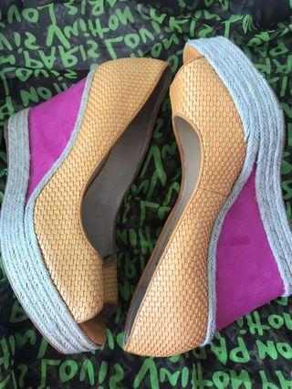 Charles & Keith Wedge Shoes