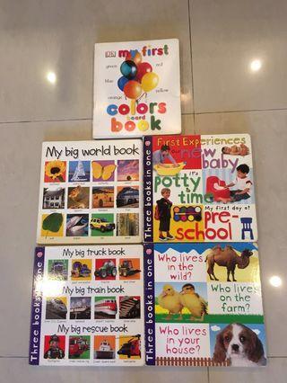 Set of 5 lovely children books