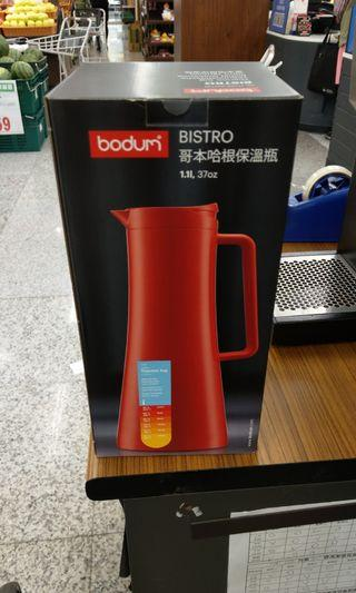 全聯丹麥BODUM 北歐時尚 哥本哈根保溫瓶1.1L