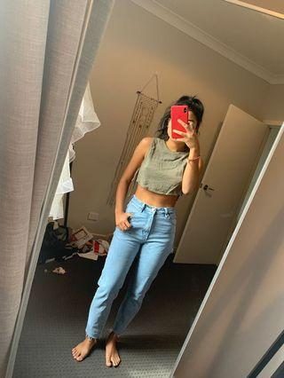 Abrand high waisted jeans