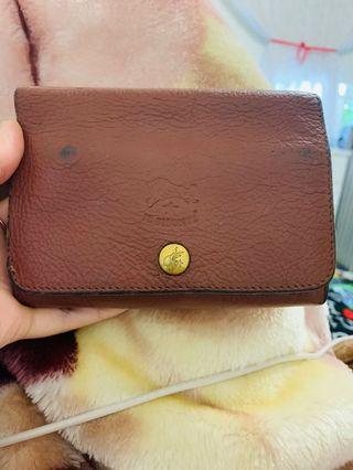 Vintage Il bisonte wallet
