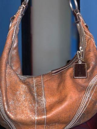 Coach All Leather bag