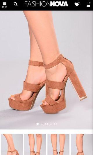 Fashion nova heel
