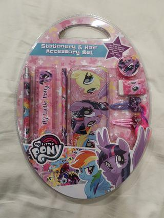 My Little Pony - Stationery and Hair Accessory Set