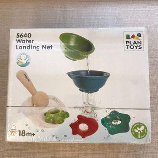 🚚 全新Plan Toys water landing net玩水玩具 捕捉網組