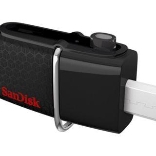 🚚 Sandisk Ultra DD2 Dual USB (3.1 and mini-USB) Thumb Drives (16/32/64/128/256)GB