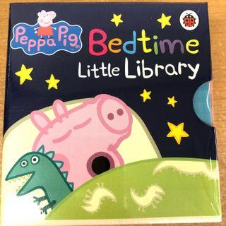 (New) 一套四本Peppa Pig Bedtime Little Library