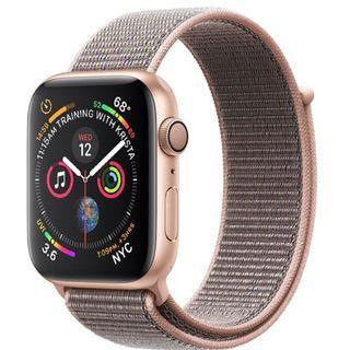 BNIB Replacement Apple Watch gold aluminium Series 4 44mm GPS only