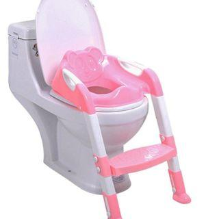 Foldable Potty Step Ladder Training Seat
