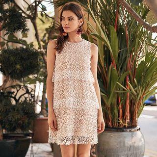 TCL Celine Crochet Dress