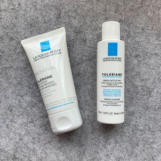 BN LRP Toleriane Dermo-Cleanser + Caring Wash (50ml each)