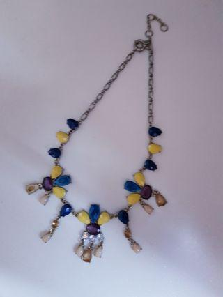 🚚 Colourful Statement Necklace