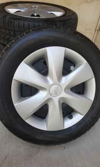 14 inch rim & tyre