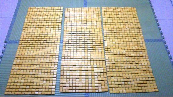 天然竹涼坐墊-2人座45×109cm