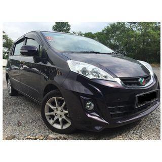 Perodua alza 1.5 A high spec for rental