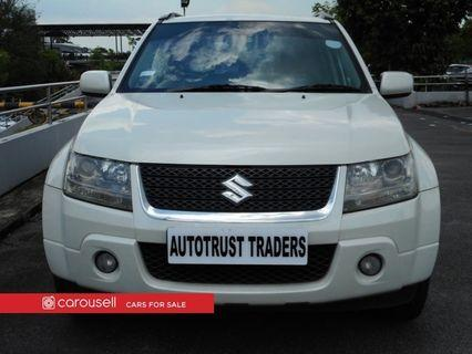 Suzuki Grand Vitara 2.0A (New 10-yr COE)
